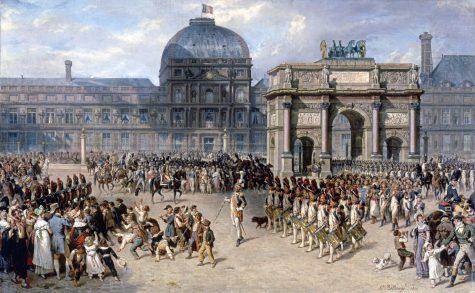 Hippolyte_Bellangé_-_Un_jour_de_revue_sous_l'Empire_-_1810